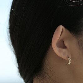ハワイアンジュエリーピアス送料無料K14フープ誕生日プレゼントジュエリー妻女性女友達彼女|ハワイアンバイザシーゴールドピンクゴールドイエローゴールドチェーンあす楽レディースアクセサリー14KGE103-15