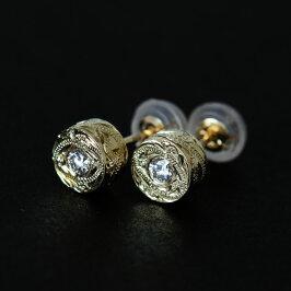 ハワイアンジュエリーピアスダイヤモンド0.05ct送料無料K14誕生日プレゼントジュエリー妻女性女友達彼女|ハワイアンバイザシーゴールドピンクゴールドイエローゴールドチェーンあす楽レディースアクセサリー14KGE105敬老の日ハロウィン