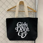 GirlsDon'tCryガールズドントクライLOGOTOTEBAGロゴトートバッグカラー:ブラックサイズ:L【新古品】【かばん】【クリスマス】【プレゼント】