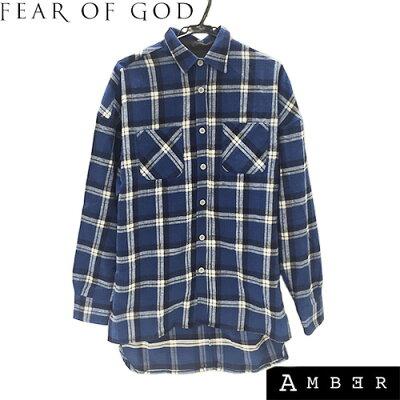 フィアオブゴッド(FEAR OF GOD)ロング丈チェックシャツ