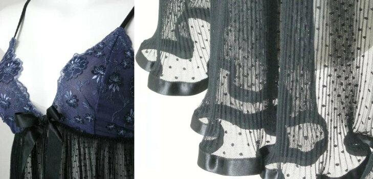 バスト・裾部分→クリックで拡大