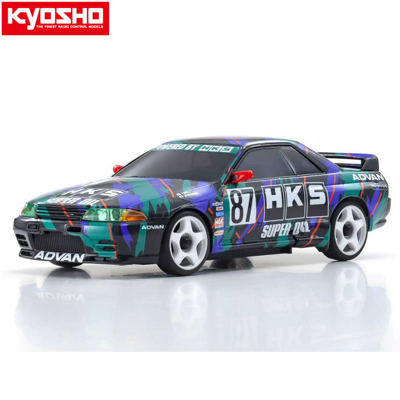 ラジコン・ドローン, オンロードカー ASC MA020N HKS R32 GT-R87 1993 KYOSHO MINI-Z MZP449HK