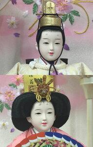 ひな人形送料無料籘翁作芥子親王羽衣白軽量アクリルケース雛人形おひなさま桃の節句