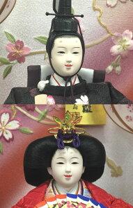 ひな人形送料無料籘翁作芥子親王羽衣深紫軽量アクリルケース雛人形おひなさま桃の節句