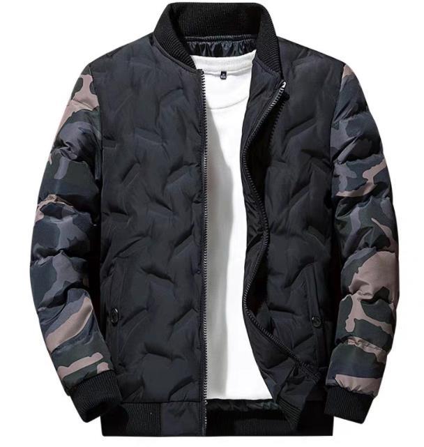 M−4XL 3color ダウンジャケット メンズ 暖かい アウター ジャケット コート シンプル  プルオーバー アメカジ ストリート ウルトラ 秋冬 防風 防寒 中綿