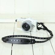 カメラストラップ イタリアン ブラック