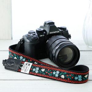 カメラストラップ 一眼レフ かわいい おしゃれ mi-na ミーナ / ビューティフルブーケ