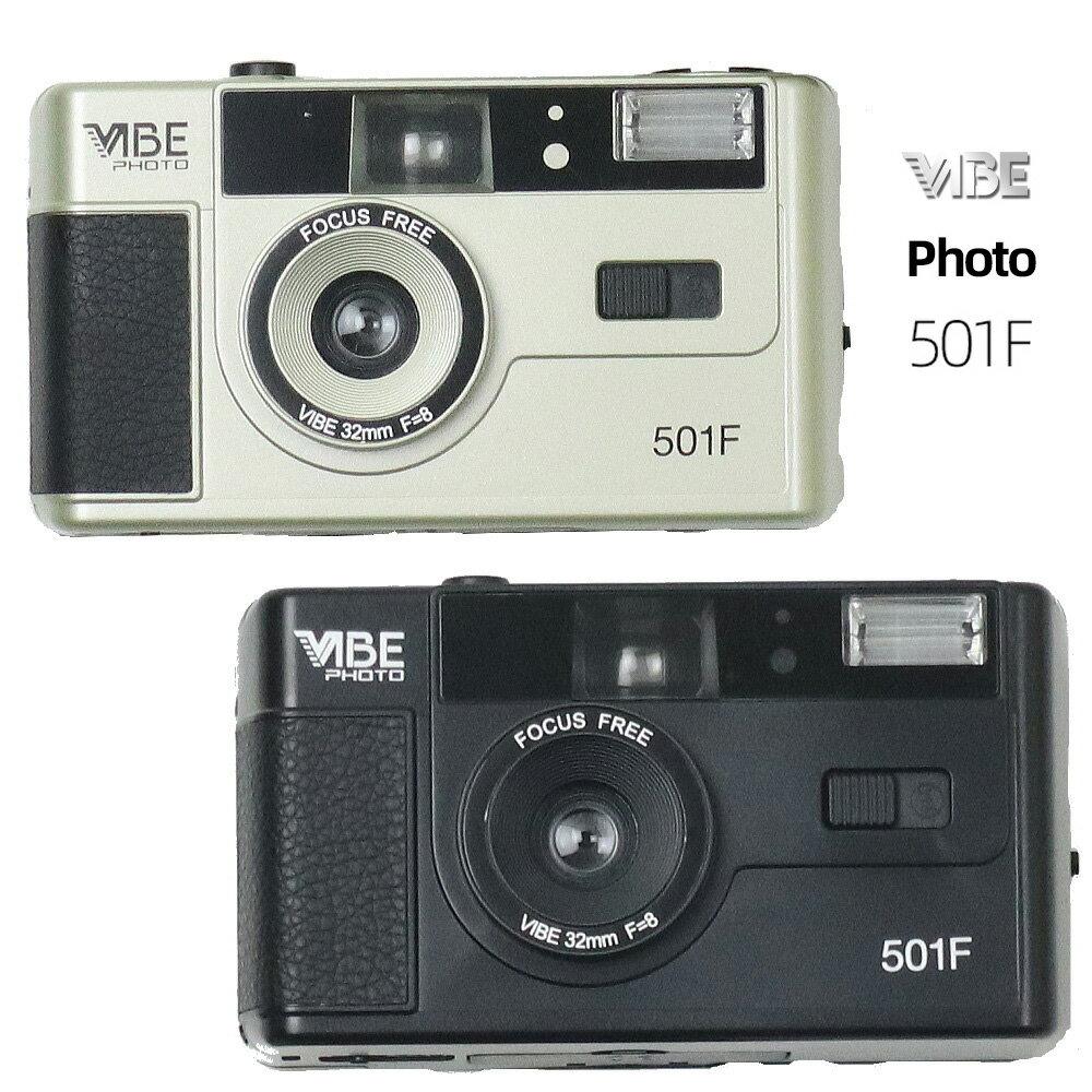 フィルムカメラ, コンパクトフィルムカメラ 500 VIBE PHOTO 501F 35mm