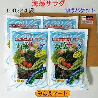鳴門海藻サラダ100g×4袋【ゆうパケット送料無料】