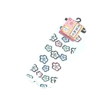 足袋ソックス 二本指 可愛い 人気 和柄 レトロモダン プレゼント 健康 冷え予防 浮き指矯正 美脚 外反母趾予防 着物 草履 足袋靴下(2.)