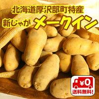 【送料無料】北海道厚沢部町産メークインMサイズ10kg
