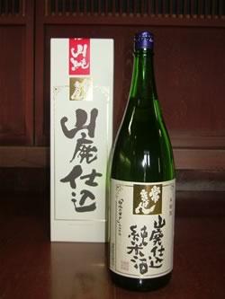 鹿野酒造/常きげん 山廃仕込純米酒 1800ml