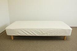 【セット購入限定】洗えるベッドパッド☆日本製☆無漂白☆1枚・BOXシーツ2枚全3点セット/セミダブルサイズ用