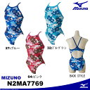 MIZUNO [ミズノ]レディース競泳練習用水着EXER SUITS U-Fit ミディアムカット 1