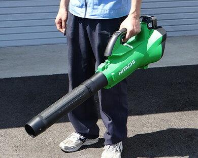 日立工機充電式ブロワーRB36DL(NN)+背負式バッテリーBL36200(S)付セット(充電器付き)