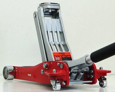 アルミ製ローダウンジャッキ3tMJ-3.0AL(低床100mm)[2トンアルミジャッキ油圧ジャッキ][r10][s40]