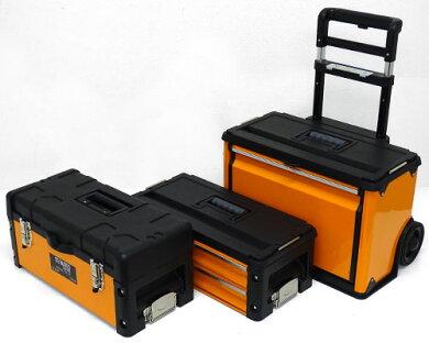 ミナト4段式移動車輪付ツールボックスTB-40DX(最大荷重75kg)[ツールチェスト工具箱][r10][s20]