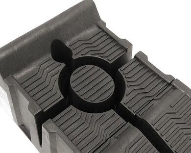 ミナト分割式カースロープPCR-3.0t-2P(2個1セット/耐荷重3t/高さ165mm)[カーランプジャッキアシスト][r10][s20]