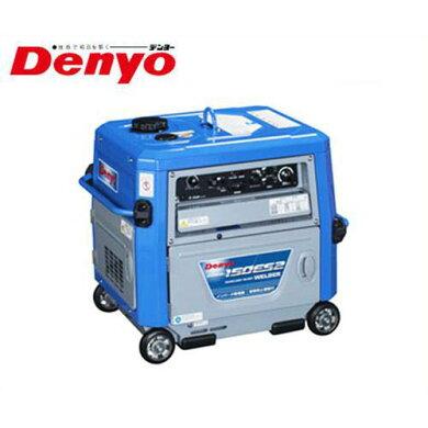 デンヨー防音型エンジン溶接機GAW-150ES2(発電機兼用型/セル式)[Denyoエンジンウェルダー]