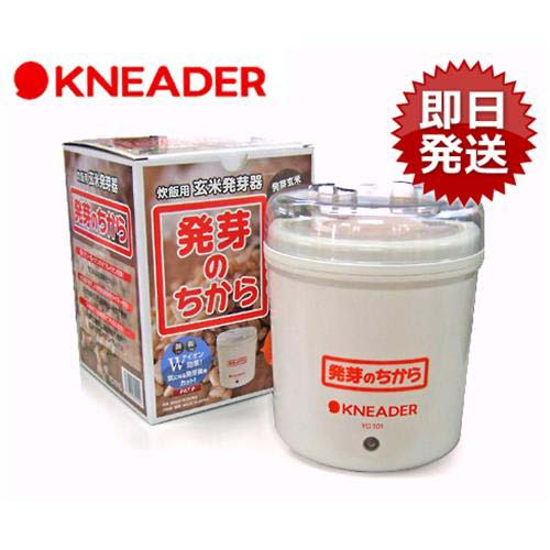 日本ニーダー 玄米発芽器 『発芽のちから』 YC101G [発芽玄米][r10][s1-080]