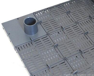 エーハイム底面直結フィルター(75cm水槽分の底面プレート付き)[EHEIM3541000]