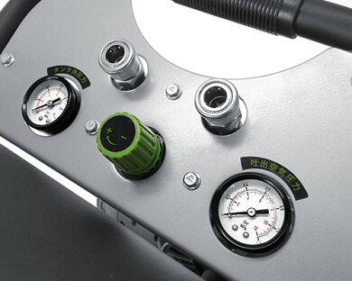 ミナト静音オイルレス型エアーコンプレッサーCP-20Si《エアーツール3点付きセット》(100V/タンク容量20L)[エアコンプレッサー][r10][s11][w1600]