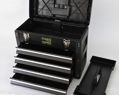ミナト5段式ツールボックスTB-30(引き出し付き/最大荷重40kg)[工具箱ツールチェスト][r10][s10]
