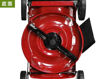 ミナトエンジン芝刈り機兼雑草刈り機LMC-560BS(手押し式/4.5HPB&Sエンジン搭載/刈幅560mm/横排出専用)[エンジン式芝刈機草刈り機][r12][s5-040]