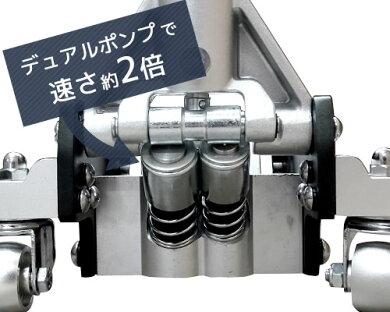 ミナトアルミ製ローダウンジャッキ3tMHJ-AL3.0D[3トンアルミ製アルミジャッキ油圧ジャッキフロアジャッキ][r10][s3-161]