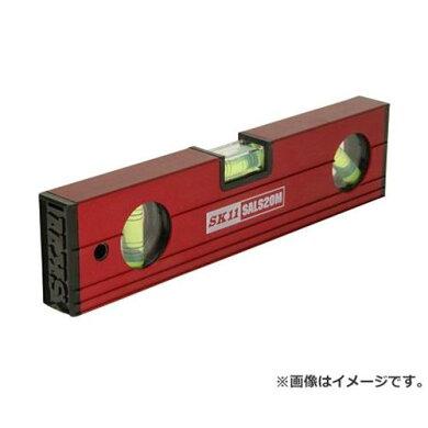 SK11アルミレベル200スリムMGSALS20M[大工道具測定具アルミ水平器4977292195362][r11]