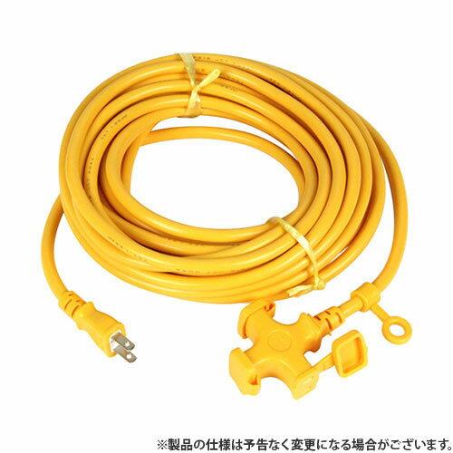 KOWAソフトタイプ延長コード10mKM02-10キイロ4580138480029 電工ドラム・コード延長コード10M