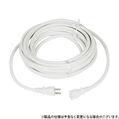 KOWA延長コード12A×10mFW081-10シロ4580138480814 電工ドラム・コード延長コード10M