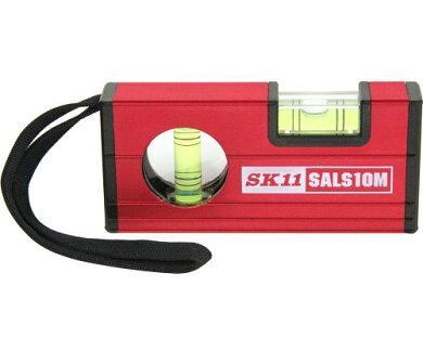 SK11アルミレベル100メタルSALS10M-3M[大工道具測定具アルミ水平器4977292819534][r11]