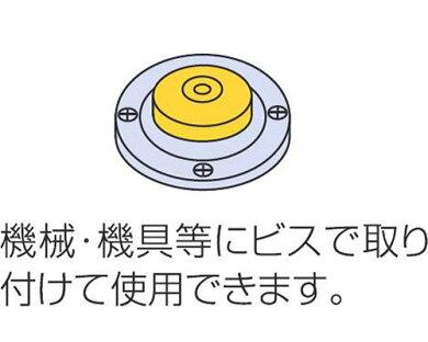 シンワミニレベル丸型A76037[大工道具測定具アルミ水平器4960910760370][r11][s11]