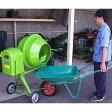 ナカトミ コンクリートミキサー 2切 MIX-500 (100Vモーター+車輪付) [r21][s9-025]