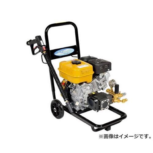 スーパー工業 エンジン式�圧洗浄機 コンパクト&カート型 SEC-1012-2