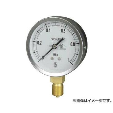 長野 JIS汎用形圧力計(A枠) GS511311.6MP