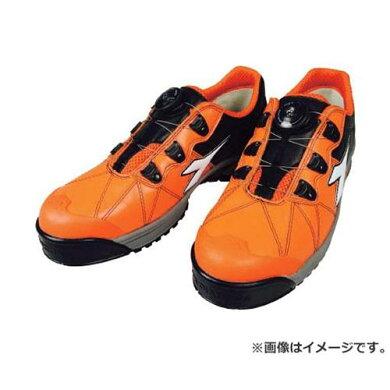 ディアドラDIADORA安全作業靴フィンチ橙/白/黒24.5cmFC712245[FC712-245][r20]