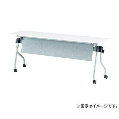 TOKIO天板跳上式並行スタックテーブル(パネル付)NTAN1545PNR[NTA-N1545P-NR][r20]