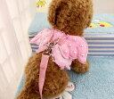 猫用 ピンクの天使 レース ハーネス リード付 胴輪 ペット お出かけ お散歩 【送料無料】ctr-d52