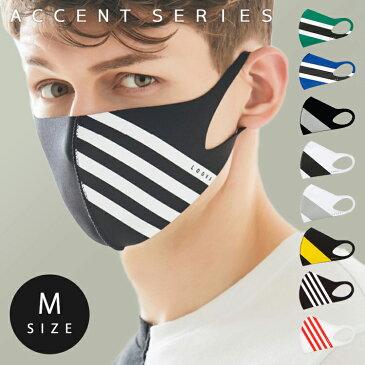 【送料無料】LOOKA デザイン マスク アクセント | ルカ 繰り返し 洗える 紫外線 蒸れない 肌荒れしない 耳痛くない おしゃれ かっこいい 黒 韓国 Mサイズ Sサイズ 男女兼用 C99D2-A048