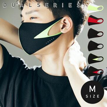 【送料無料】LOOKA デザイン マスク デュアル | ルカ 繰り返し 洗える 紫外線 蒸れない 肌荒れしない 耳痛くない おしゃれ かっこいい 黒 韓国 Mサイズ Sサイズ 男女兼用 C99D3-A048