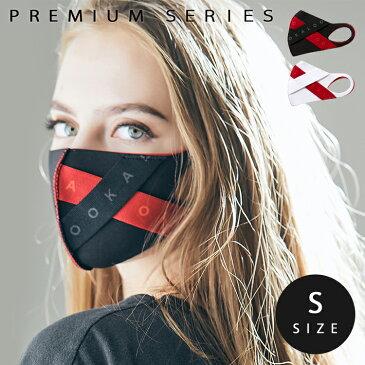 【送料無料】LOOKA デザイン マスク プレミアム | ルカ 繰り返し 洗える 紫外線 蒸れない 肌荒れしない 耳痛くない おしゃれ かっこいい 黒 韓国 Mサイズ Sサイズ 男女兼用 C99D4-A048