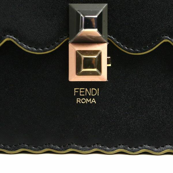 フェンディ バッグ レディース キャナイ FENDI 8BT283 A18Q F0KUR チェーン ショルダーバッグ ブラック