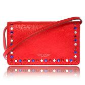 Marc Jacobs マーク ジェイコブス PYT Wallet Crossbody Bag Leather ハンド クラッチ バッグ ショルダーバッグ 赤 M0008268-622