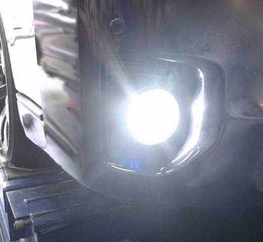 200系ハイエース 3型後期・4型・5型・6型 [360°照射 2000ルーメン] LEDフォグランプ/Custom C.O.B/2000LM(ホワイト・レモンイエロー・アイスブルー)GDH・ KDH・TRH2##(H24.5〜)画像