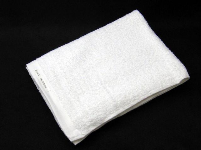 輸入800匁白バスタオル(120枚)ケース売り特価!!:アメニティーグッズ専門店MINE