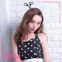 セール 【あす楽】お化けの日 Tika ティカ ハサミカチューシャ ブラック × シルバー ゾンビ
