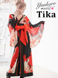 【あす楽送料無料】Tikaティカ花柄和テイストロングドレスS-Lサイズ大きいサイズキャバキャバドレスキャバ嬢キャバクラロングドレスロング花魁ドレス着物ドレス和柄ドレス和風ドレス振袖ドレス和和風花魁夜ドレス通販