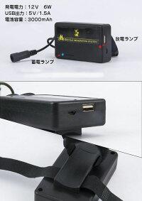 自転車発電機USBチャージャー摩擦発電防水電池内蔵安定出力